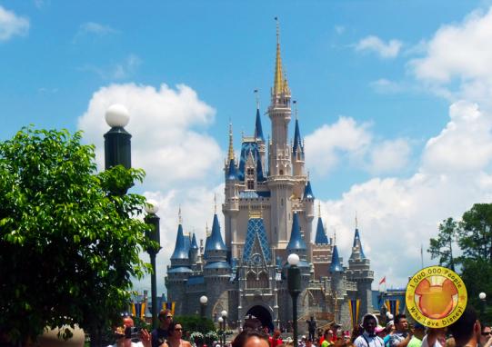 cinderella castle in Magic Kingdom at Walt Disney World